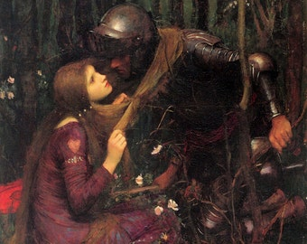 John William Waterhouse: Beautiful Woman Without Mercy. Fine Art Print/Poster (00832)
