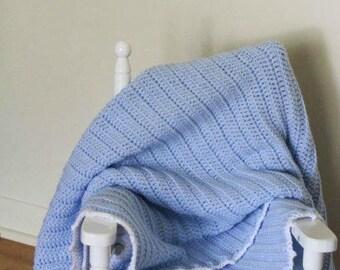 Jae Baby Blanket | Baby Blanket Crochet Pattern | Crochet Baby Blanket Pattern | Crochet Preemie Blanket Pattern | PDF Pattern