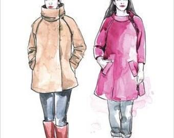 Clare Coat Paper Pattern- Closet Case Patterns