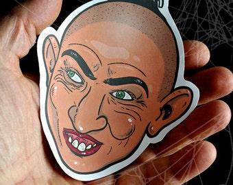 American Horror Story Pepper Inspired Large Paper Sticker