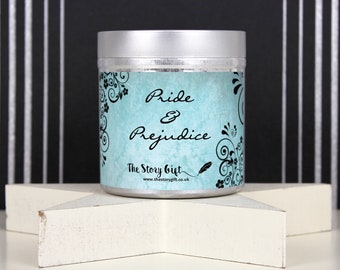 Pride and Prejudice | Soy Scented Candle | Book Lover Gift | Classic Literary Candle | Bookish Gift | Book Candle | Thestorygift
