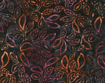 Tonga Tropic Batik - Timeless Treasures - Tonga-B6191-Navy