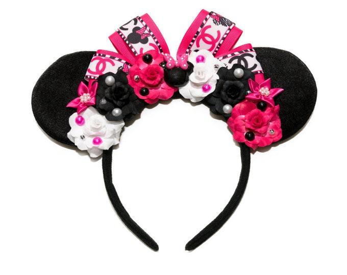 Designer Mouse Ears Headband