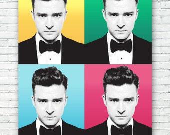 Justin Timberlake Art Print Poster