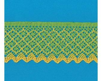 Cotton Lace Trim Cluny torchon width cm.7 pack mt.10 Art.1843