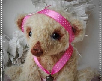 Lily, OOAK artist bear - ballerina - cute gift