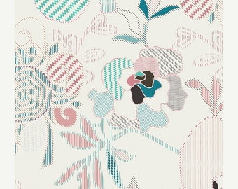 extra15 40% OFF Etno Stitched Anthomania Luster - 1/2 Yard