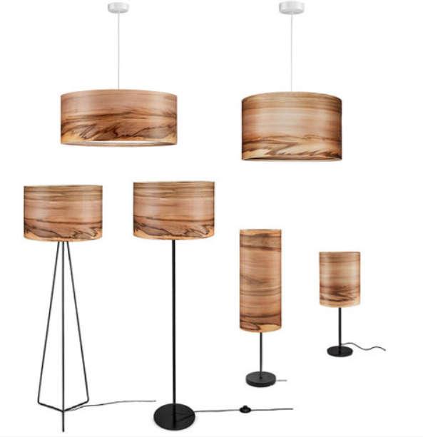 Floor lamp wooden lamp modern floor lamp natural wood shade 1 aloadofball Image collections