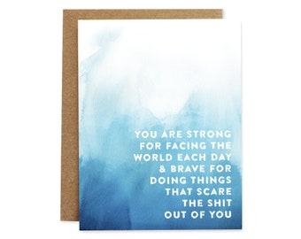 Compassion Card, Encouragement Card, Depression Card, Depressed Card, Illness Card, Mental Health Card, Mental Illness Card, Support Card