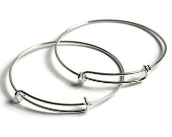 Child Size Bracelets, Baby Bracelet, Small Bangles, Blank Bracelet, DIY Charm Bracelets, Kid Bracelet, Baby Jewelry, Children Bracelets