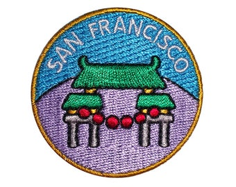 Dragon's Gate San Francisco Merit Badge