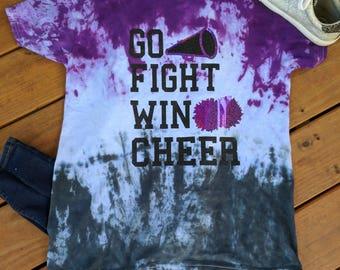 Tie Dye School Spirit T-shirt