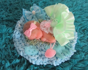 Polymer Clay OOAK Baby, Madison Brooke