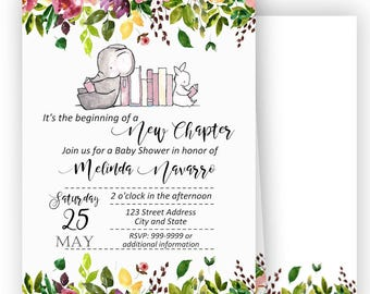 Storybook invitation once upon a time book shower invite 50 off storybook baby shower invitation storybook baby shower storybook invitation once filmwisefo
