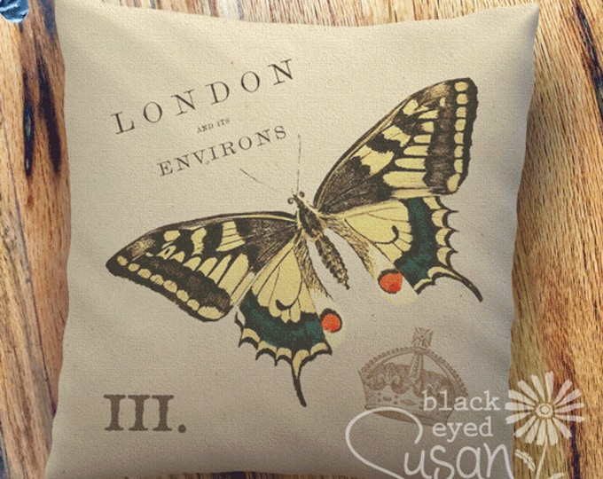 """Butterfly Pillow Cover 