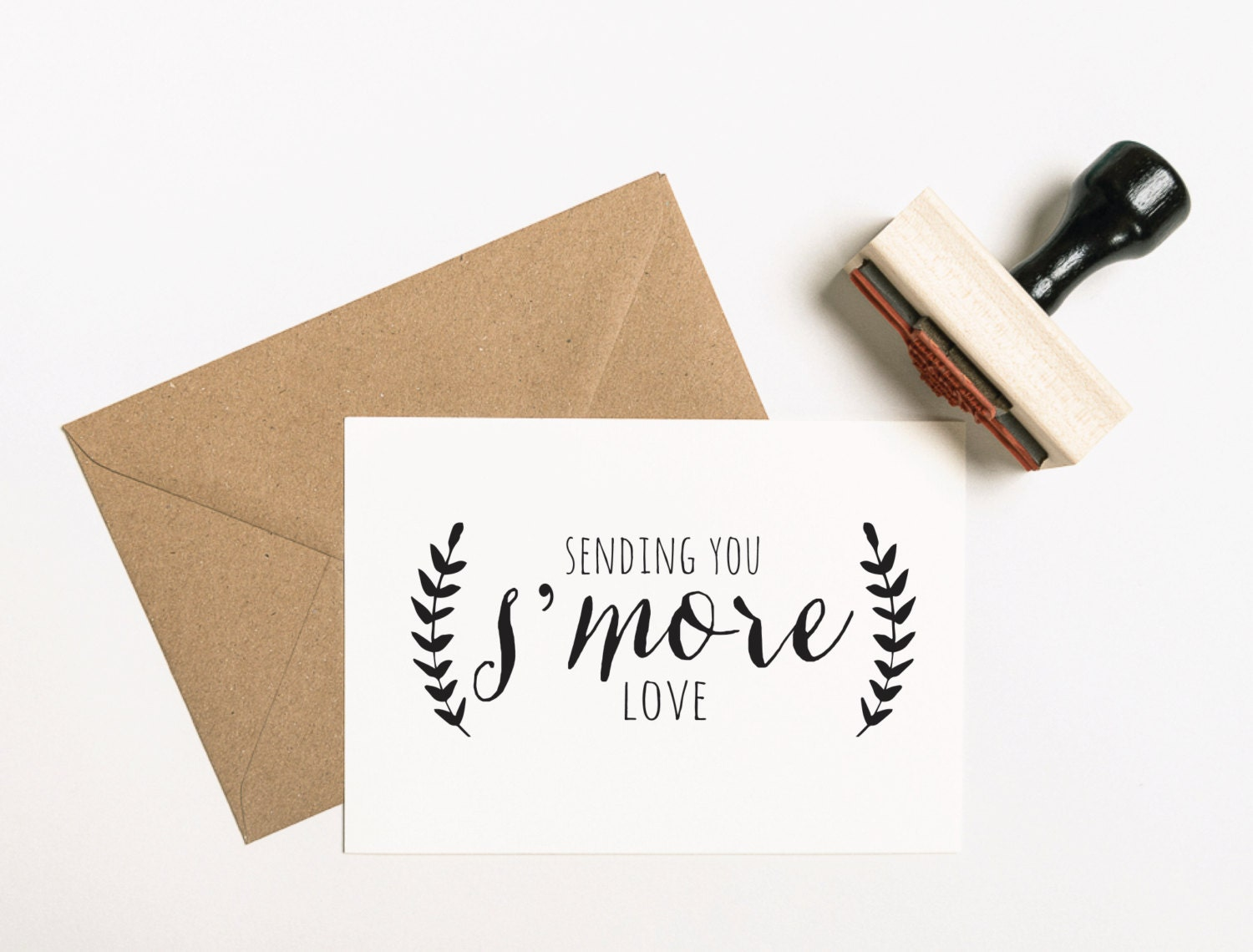 Love Stamp S\'more Love Stamp S\'more Favors Stamp
