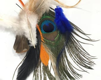 X 1 Pack assortment of 25 mixed feathers