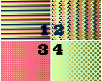 Pattern Vinyl, Coral Mint Gold, HTV, Adhesive Vinyl, Chevron, Outdoor 651 Vinyl, Heat Transfer Vinyl, Iron On Vinyl