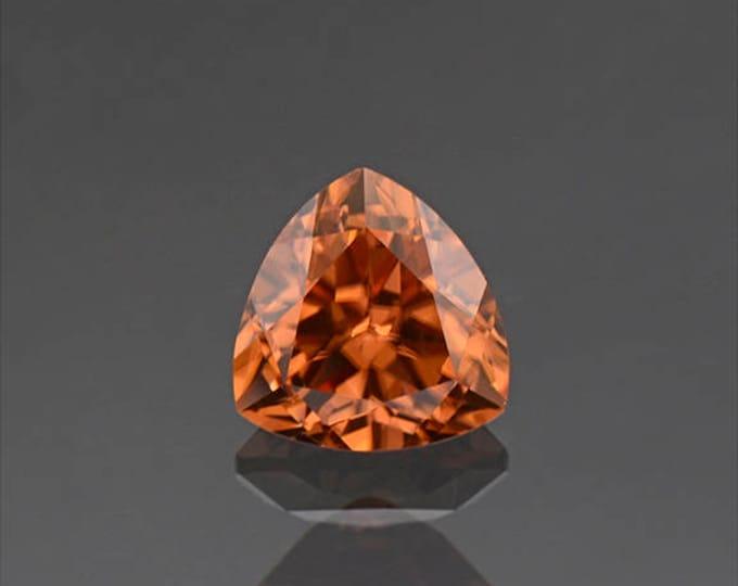 Stunning Bright Orange Zircon Gemstone from Tanzania 2.58 cts.
