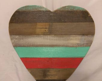 Rustic Heart made from reclaimed wood