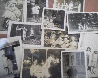 1920s-40s Groups of Children Antique Photo Lot No.2