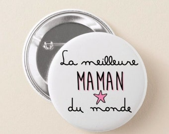 Gift the best MOM goodies, badge, magnet, mirror