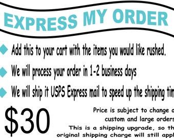 Express My Order - USPS Express Shipping