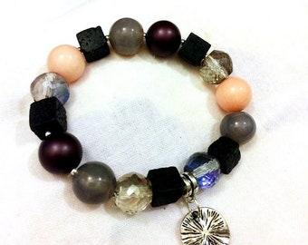 "Gemstone charm bracelet ""Magic"""