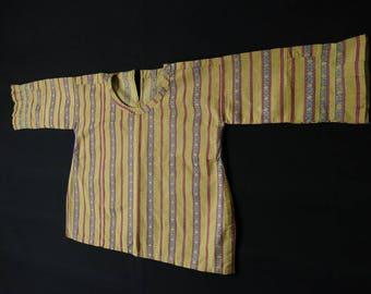 Ottoman silk brocade child shirt