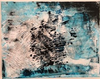 Abstract Gray Acrylic