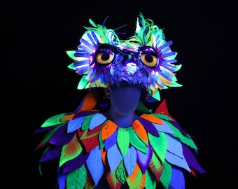EDC Owl Costume - Custom Made - Theatrical Made To Order