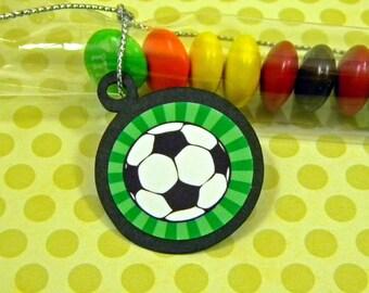 Soccer Balls - Candy Treat Bag Favors Set of 12