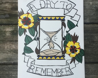 A Day To Remember - Canvas