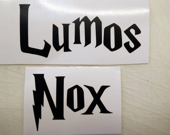 Lumos Nox Inspired from Harry Potter