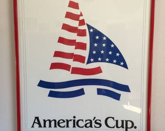 America's Cup Poster - Don't Leave Perth Without It