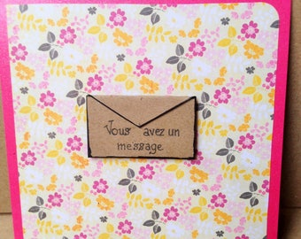 Handmade for any occasion card
