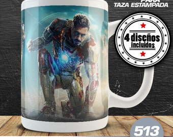 "4-Cup Design for ""IronMan 3"""
