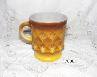 Anchor Hocking Fire King Kimberly Coffee Cup