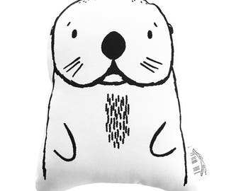 Oslo the Otter Soft Toy Pillow by The Wild - Stuffed Toy, Plushie, Stuffed Animal, Baby Toy, Otter Plush, Baby Stuffed Toy
