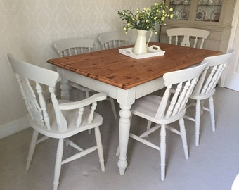 dining nest farmhouse vintage modern style table room roomfarmhouse little makeover
