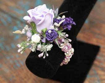 Wrist corsage bracelet x 1  for weddings or occasions
