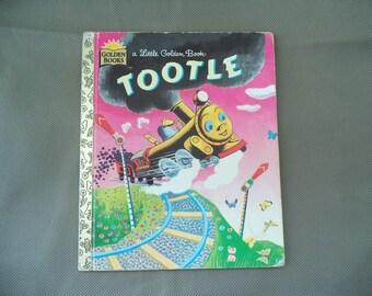Little Golden Book  ,Tootle story book ,Golden books, 1973 Little Golden book, Children's story book