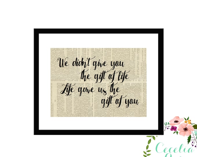 We didn't give you the gift of life, life gave us the gift of you *BAYSTATE NICU 5K*