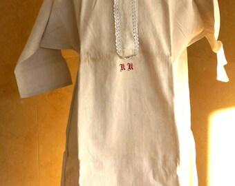 Grandma's linen shirt