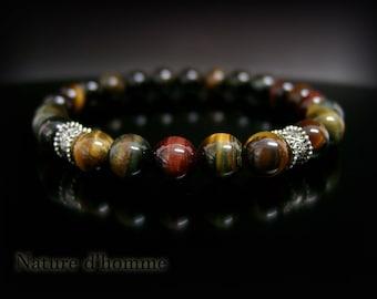 Stone bracelet mix of colors more Tiger eye: BN-415
