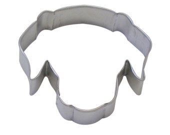 Dog Face Cookie Cutter  Puppy Head cookie cutter, 3.5""