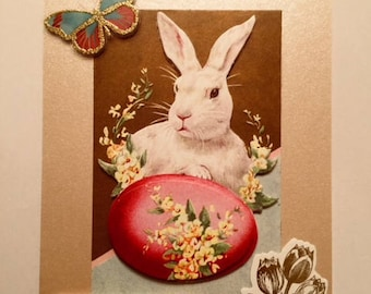 Handmade  Anna Griffin Inspired Easter Card