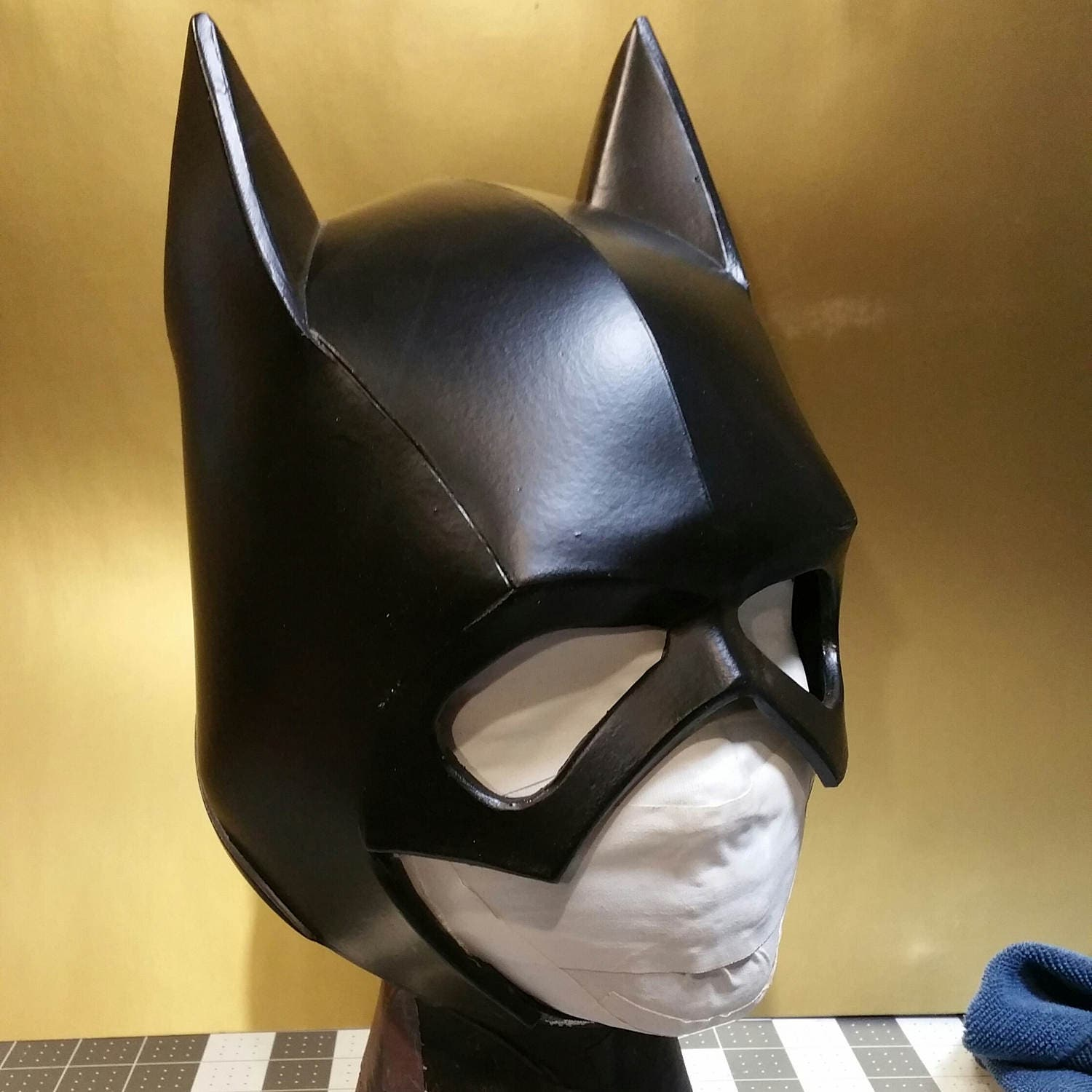 Batgurl Batcowl foam helmet template from XiengProd on Etsy Studio
