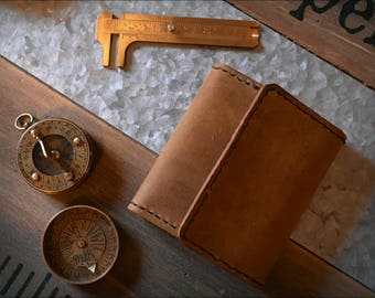 Handmade Leather Wallet | Mens Wallet | Trifold Wallet | Personalized Leather Wallet | Unique Leather Wallet | Pocket Wallet | Gifts for Men