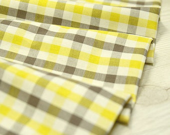 "Yarn Dyed Plaid Cotton Fabric - 44"" Wide - By the Yard 44494"